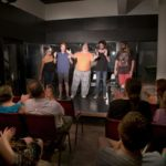 Improvisers on Lancaster Improv Players Stage