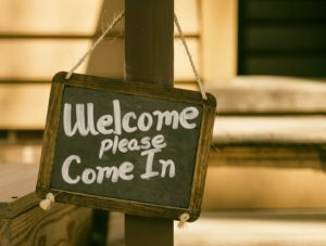 Welcome, Please Come In