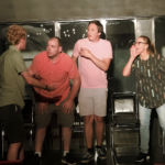 Improvisers on Stage at Lancaster Improv Players