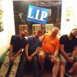 Founders Team with LIP Sign