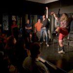 Improvisers on Lancaster Improv Players Stage alt